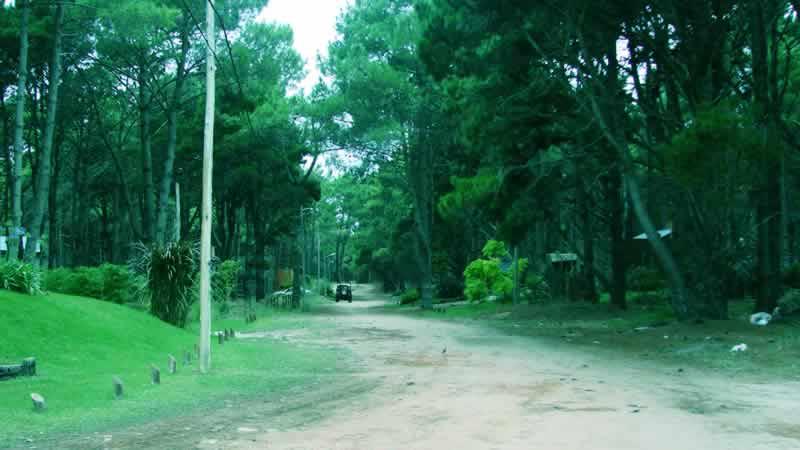Las calles y casas en Costa del Este